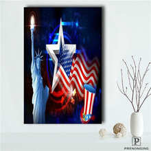 Niestandardowe-Flaga USA (1) plakat Druku Tkaniny Tkaniny Ścienne Plakat  Tkanina Jedwabna Plakat 90a5702006c4