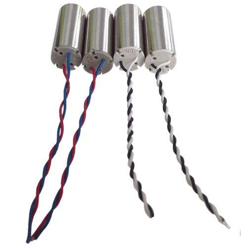 4 piezas de Motor en sentido de las agujas del reloj para Hubsan X4 H107D H107C H107-A23 RC Quadcopter 8,5mm