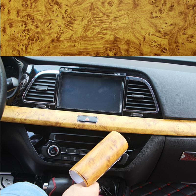 40 100cm waterproof car sticker car styling self adhesive vinyl furniture wood grain vinyl car. Black Bedroom Furniture Sets. Home Design Ideas