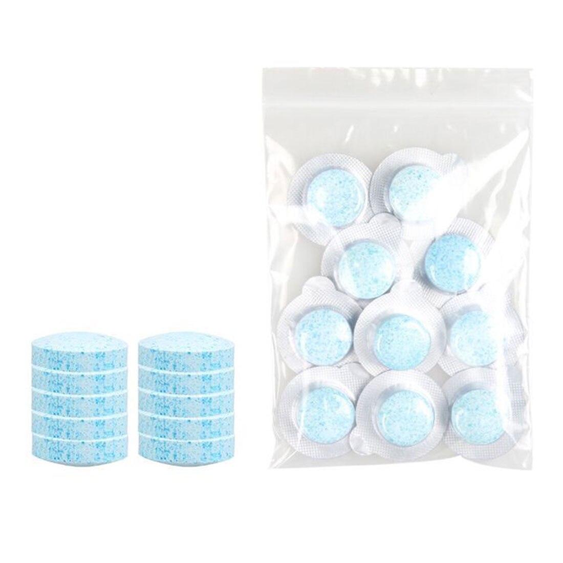 Edc 10 Teile/satz Outdoor Camping Clean Tool Reiniger Reinigung Kompakte Pillen Brause Tabletten Glas Wasser Feste Wischer Seien Sie Im Design Neu