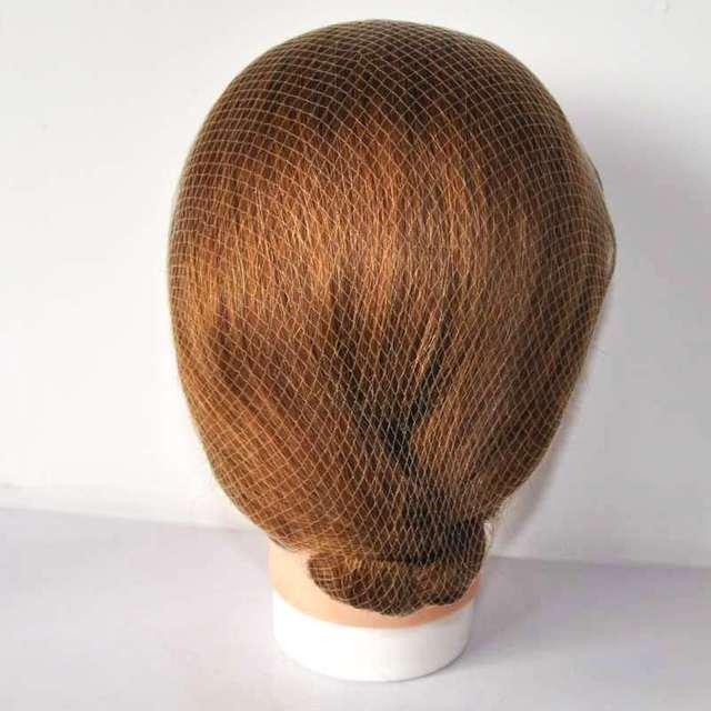 Invisible Hair Nets Disposable Bun Ballet 20inch Blonde Color Dance