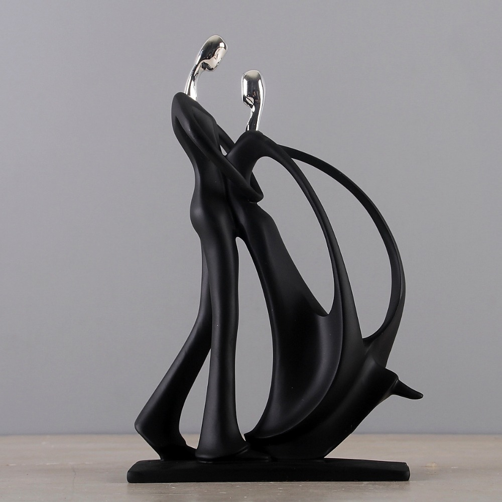 Wedding Gifts Home Decor Dancing Couple Sculpture Statue Love Decoration 1