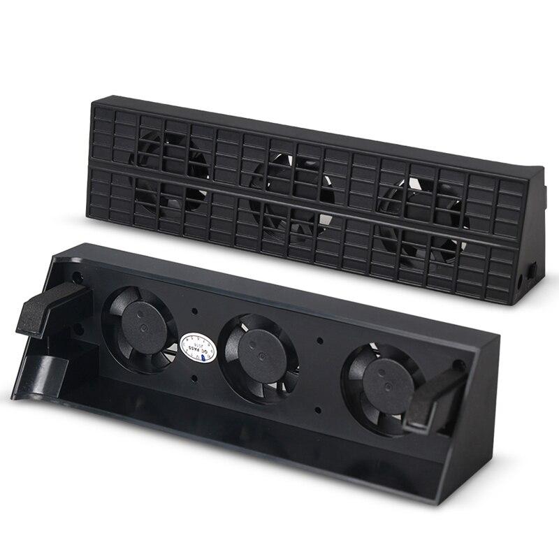 Вентилятор охлаждения Cooler отвод тепла Контроль температуры для PS4 тонкий игровой консоли