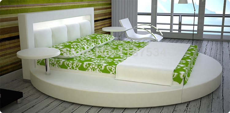 Large king size soft bed PU+PVC leather soft bed C377 smoby детская горка king size цвет красный