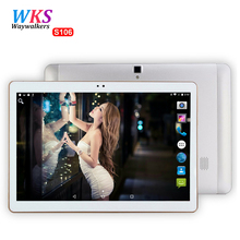 Buy online 2017 Newest 4G LTE 10 inch tablet PC Android 6.0 Octa Core 4GB RAM 64GB ROM Dual SIM 5MP GPS IPS Bluetooth smart tablets MT8752