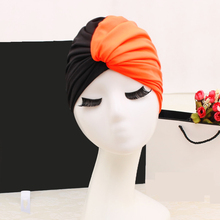 1PCS Swim Pool Splice flower Elasticity Swimming Cap Hat for Women Bathing caps for Long Hairs splice Ear Protection Large 2018 mix color flower women swimming cap for long hair ear protection swim caps lady womens girls swimwear pool hat large size