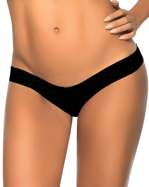 3d831e7846d Sexy Black V Thong Separates Swimsuit 2018 Womens Board Shorts Swimwear  Bandage Bathing Suits Brazilian Tanga