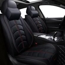 Nuovi Sport di cuoio DELLUNITÀ di elaborazione auto seggiolino auto copre per Audi tutti i modelli a3 a8 a4 b7 b8 b9 q7 q5 a6 c7 a5 q3 auto accessori per auto car styling