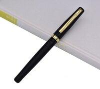 Duke Rollerball Bolígrafo De Metal 209 pluma de escritura avanzada de acero  negro mate con Clip de oro para la oficina/el hogar/La escuela
