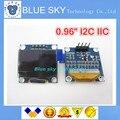 """Nova 1 Pcs branco 128X64 OLED LCD 0.96 """"I2C CII SPI Série original novo"""