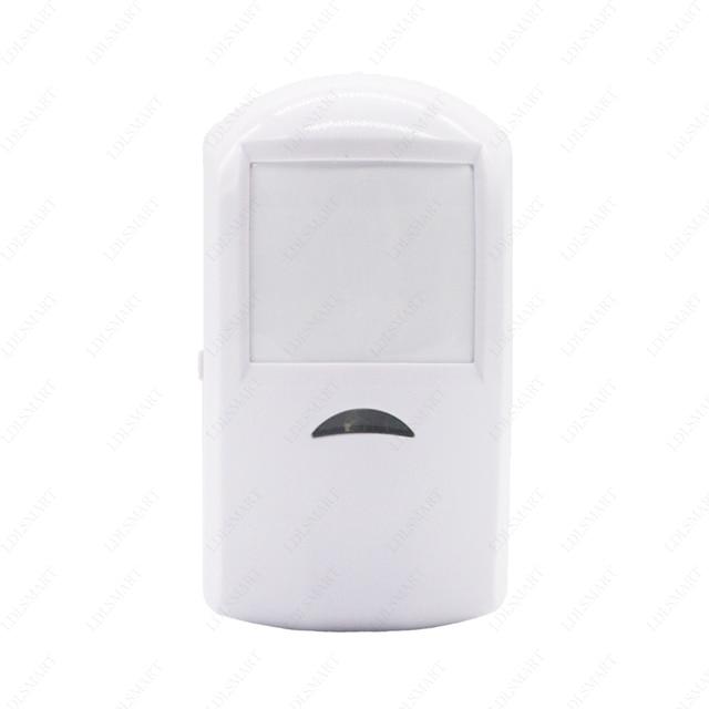 433 MHz Sem Fio PIR Sensor Detector De Movimento para O Meu Próprio Sistema de Alarme Inteligente Sem Fio sem Bateria