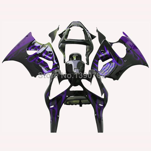 Injection Customize fairing kit for Kawasaki ZZR600 2005 2008 purple ...
