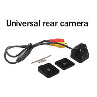 Infidini Universal Waterproof HD CCD 4 LED Night Vision Car Rear View Camera Parking Assistance
