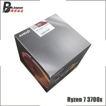 AMD Ryzen 7 3700X R7 3700X 3.6 GHz Eight Core Sixteen Thread CPU Processor 7NM L3=32M 100 000000071 Socket AM4 new and with fan