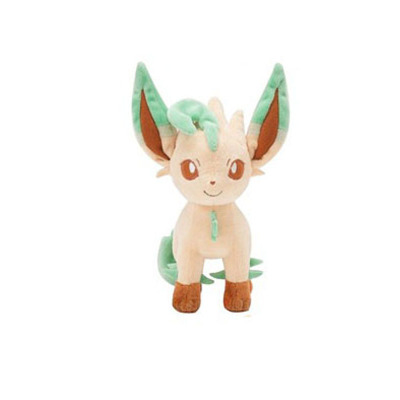 Anime Pet Soft Plush Toys Stuffed Animal Doll Standing Leafeon