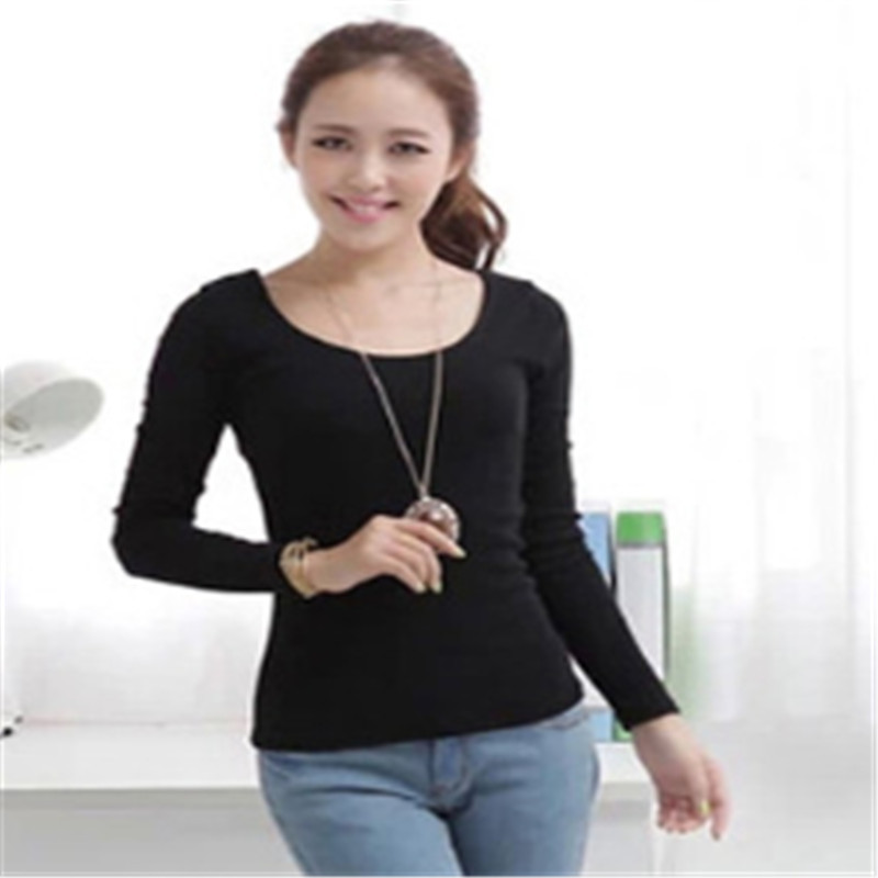 Fitted Long Sleeve Shirts for Women