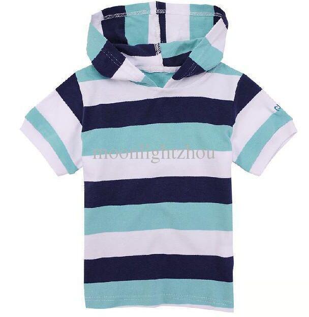2016 Novos Meninos de Verão Crianças Tops moda listras azuis Camisetas Crianças meninos Casual Tops T Camisa lapela Casual Tops T-shirts Menino Topos