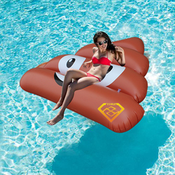 140*120cm Giant Inflatable Stool Swimming Pool Float 2017 Newest Water Toys Outdoor Fun Toy Beach Lounger Board Mattress Piscina