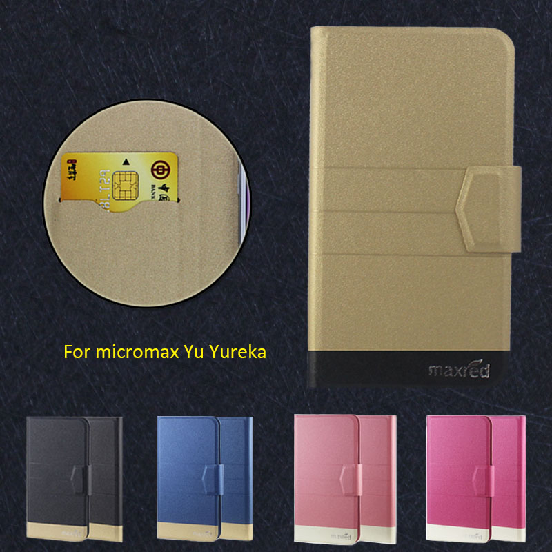 Micromax Yu Yureka Case,5 Colors High Quality Full Flip Fashion Customize Leather Luxurious Phone Accessories Curing Cough And Facilitating Expectoration And Relieving Hoarseness Enthusiastic 2016 Super Home