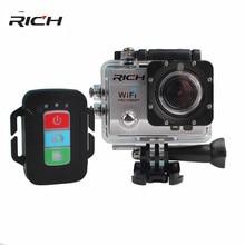 "2018  4K Wifi Action Camera SJ8000R 4K/30fps 1080P/60fps 720P/120fps 2.0"" 170D Helmet Cam Mini Camera Waterproof Action Camera"