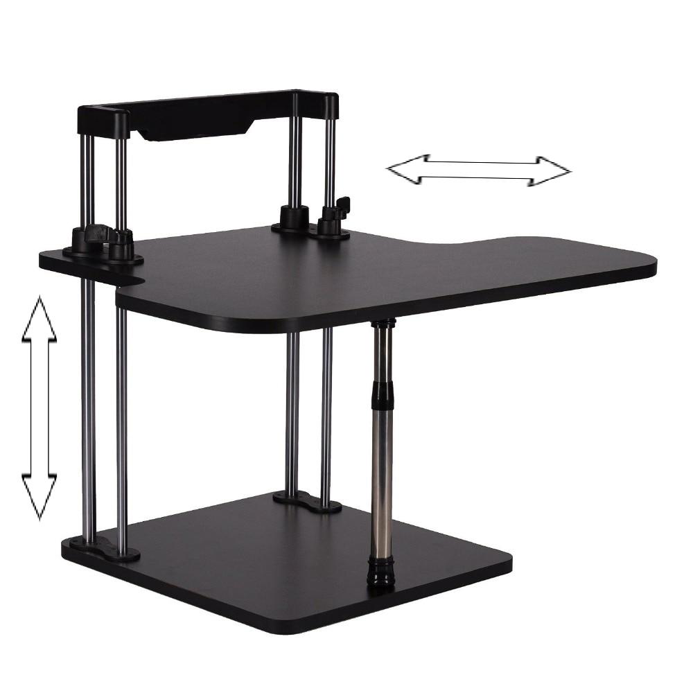 sitstand desk riser height adjustable lightweight standing laptop desk - Desk Riser