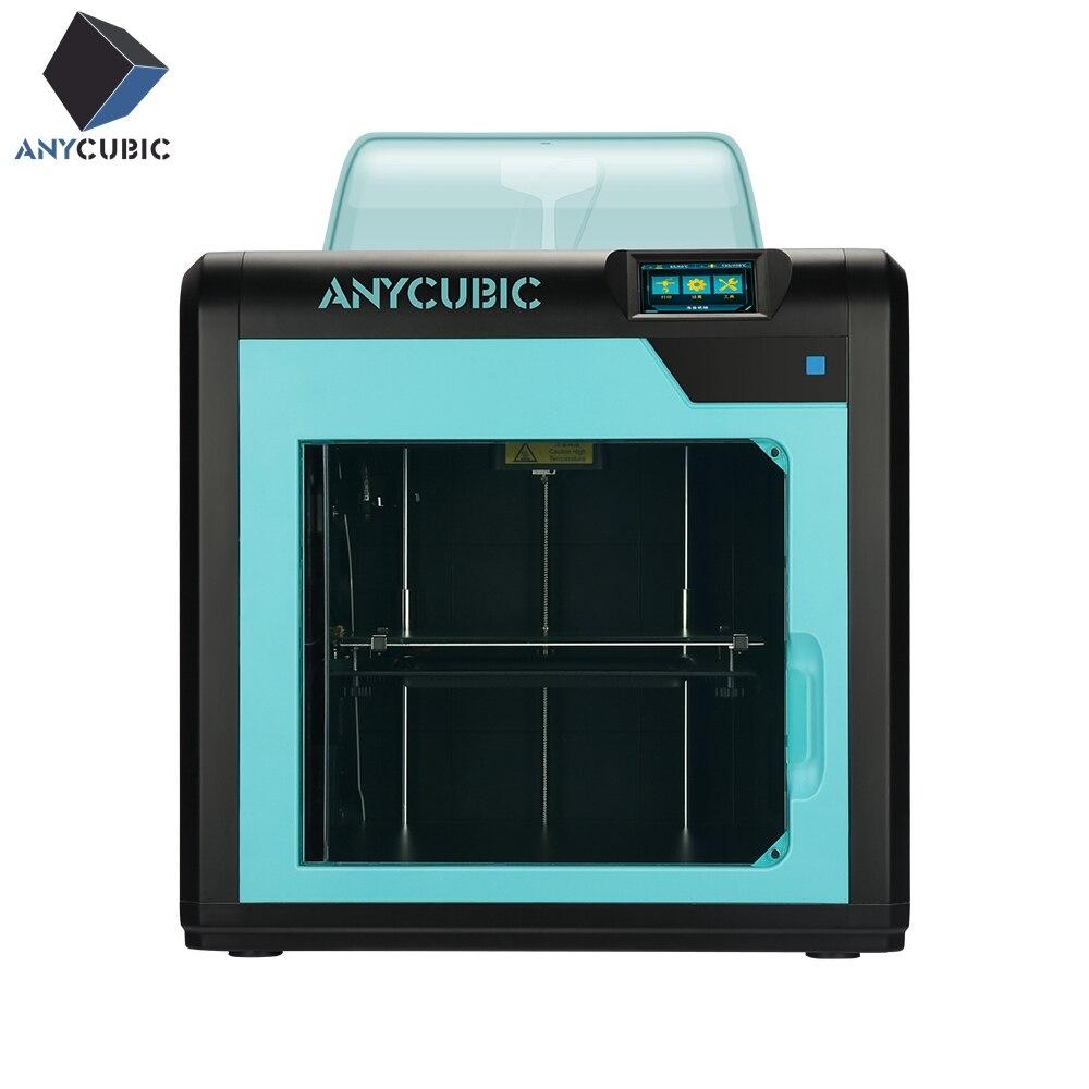 Impressora ANYCUBIC 3D 4Max Pro/4Max Grande Plus Size FDM Impressora Impresora Kit Diy Design Modular Bico 3D Plástico presente de aniversário