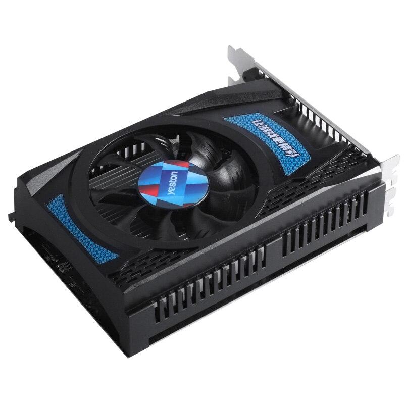 Yeston Radeon RX550 4GB GDDR5 PCI Express 3.0 DirectX12 video gaming graphics card external graphics card for desktop computer 2
