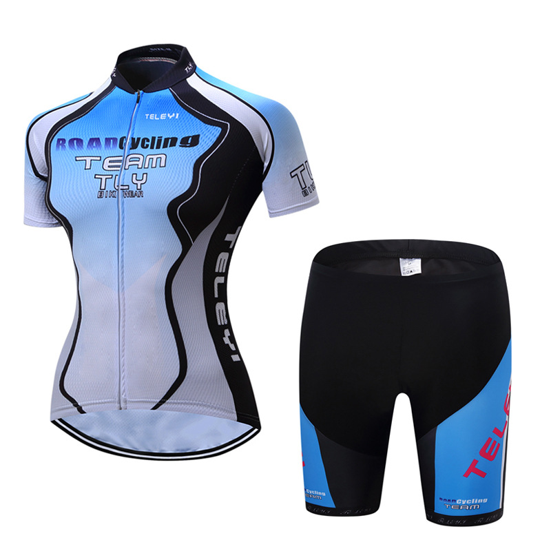 Quick Dry  Cycling set Summer Women's Short Cycling Jerseys   bike set  Breathable Bicycle Wear Cycling Clothing Bike  Clothing 2016 unisex breathable mountain bicycle jerseys cycling gel pad racing bike quick dry cycling clothing cycling jerseys sets