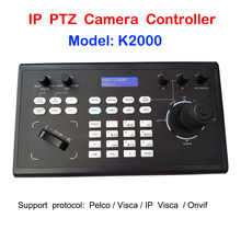 Professionele PelcoD Visca Onvif 3D Joystick IP PTZ Keyboard Controller RS485 RS232 voor Video Conference PTZ Camera