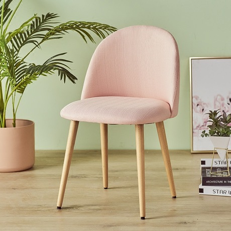 Living Room Chairs Living Room Furniture Home Furniture solid wood coffee chair Nordic dining chair chaises petal modern chairs