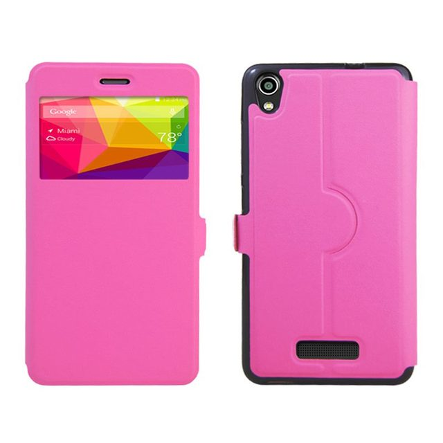TUKE High Quality Luxury for BLU Studio M HD case PU Leather Flip Stand Case with window Cover