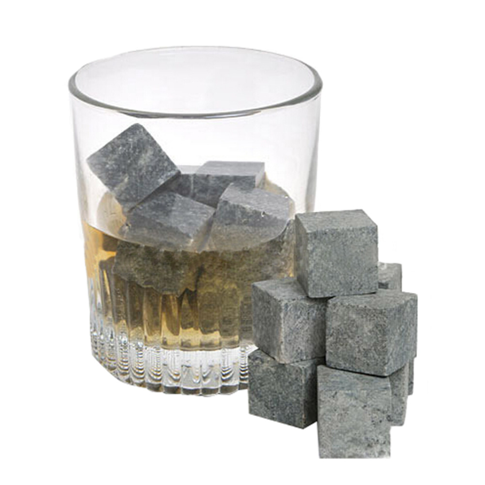 New arrival 9 Pcs/Lot hotsale whiskey stones velvet bag whisky rocks whisky stones beer stone whisky ice stone Drop Shipping ...