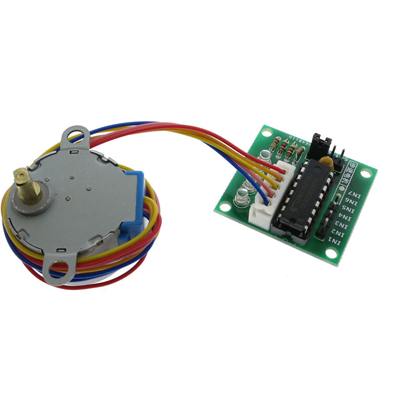 28BYJ-48 5V 4-Phase DC Gear Stepper Step Motor + Driver Board ULN2003 With Drive Test Module Machinery Board For Arduino DIY Kit
