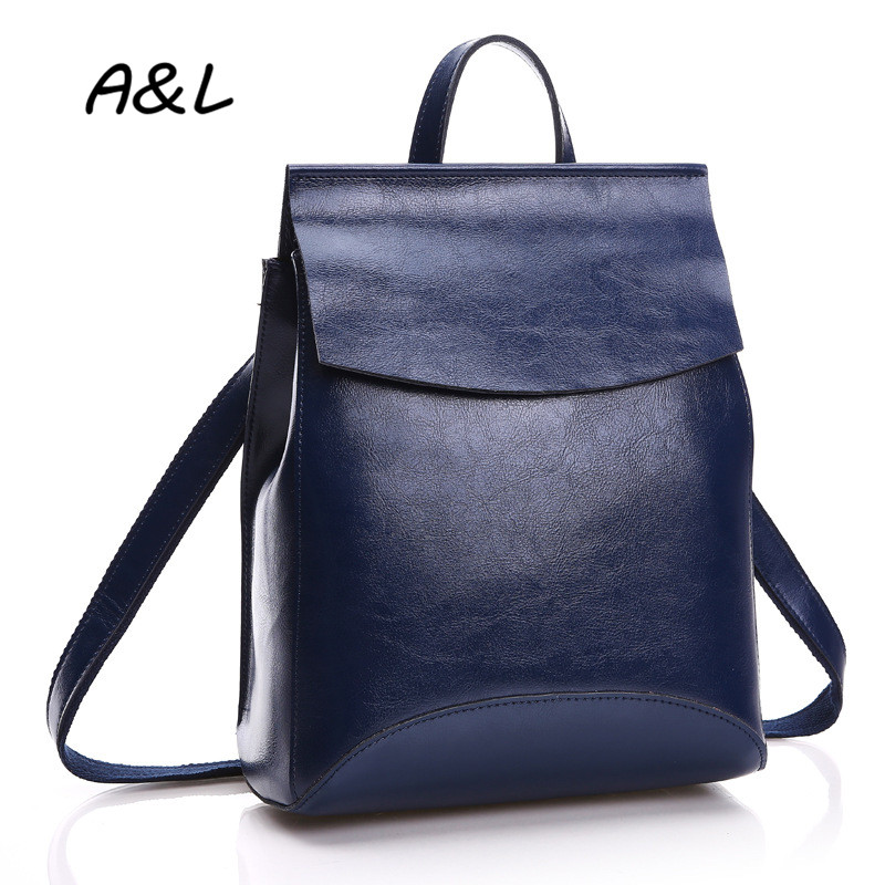 100% Genuine Leather Bag Women Backpack Lady Luxury Brand Cowhide Outdoor Backpack High Quality Fashion Casual School Bag A0051 luxury genuine leather bag fashion brand designer women handbag cowhide leather shoulder composite bag casual totes