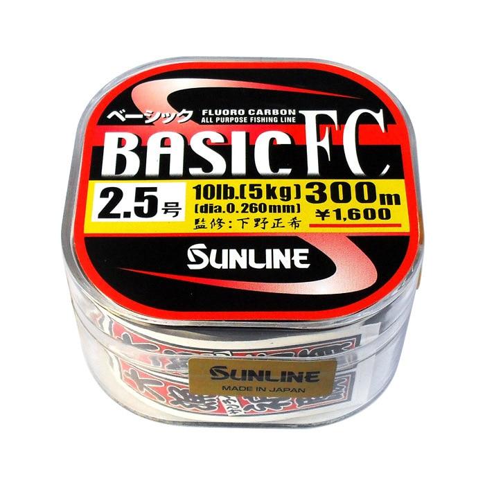 Japan sunline San Seto BASIC 225M-300M carbon wire wholesale Japan imported fish line fishing gear