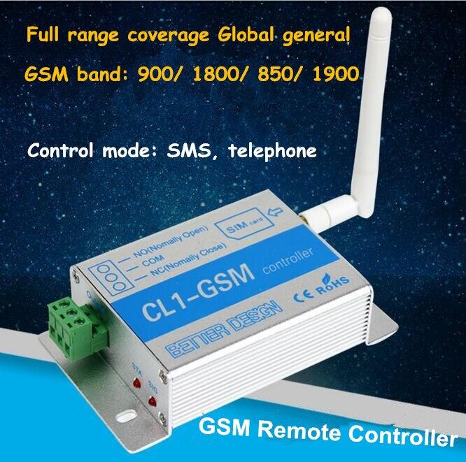 5 pièces véritable CL1-GSM téléphone portable télécommande serveur moteur pompe fer porte télécommande ouverture et fermeture