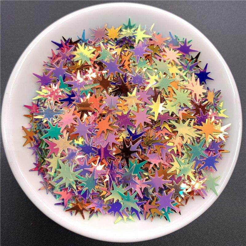 500g 10mm or coloré ongles paillettes charmes paillettes 3D manucure ongles Art décorations bijoux accessoire nail art fournitures