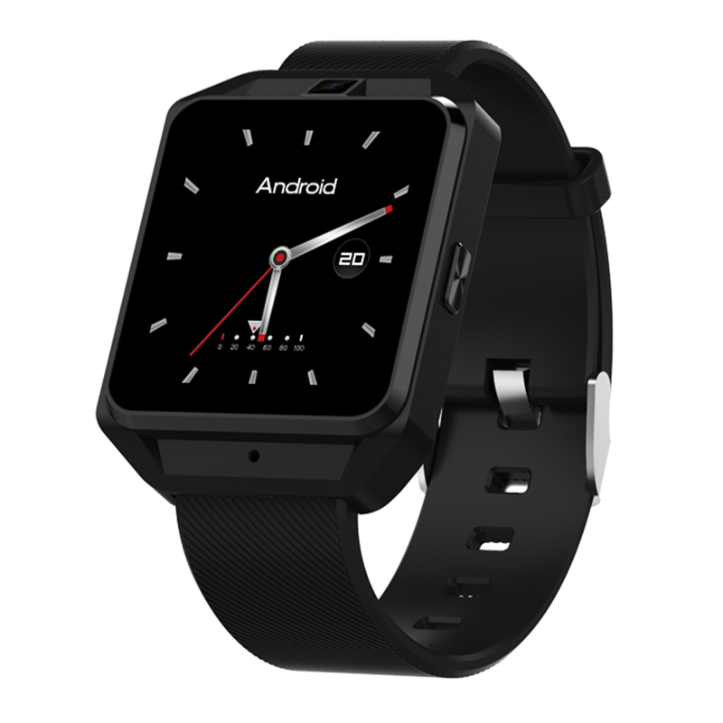 High quality 4G Smartwatch Phone MTK6737 Quad Core 1G RAM 8G ROM GPS WiFi Heart Rate / Sleep Monitor Video Call Smart Watch