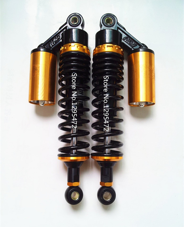 7mm spring 320mm RFY motorcycle air SHOCK ABSORBERS for Honda cx500 Yamaha suzuki kawasaki atv black