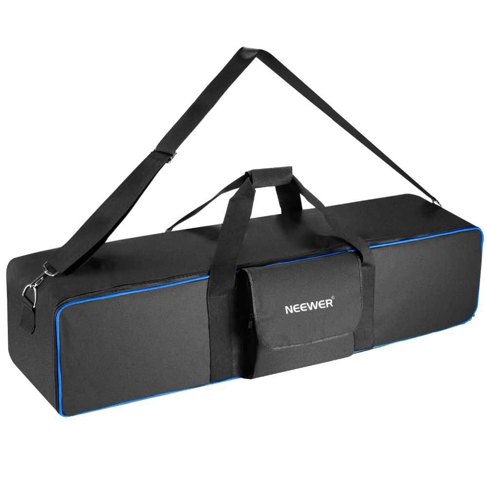 Neewer Large Photo Studio Lighting Equipment Carrying Bag 41.3x9.84x9.84inches with Shoulder Strap and Handle