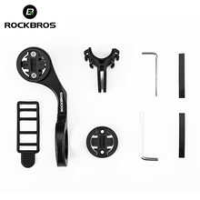 ROCKBROS Cycling Bike Computers Holder Bicycle Handlebar Sports Action Camera Gopro Combo Mount Out Front
