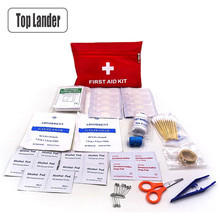 44 in 1 First Aid Kit Medical Survival Bag Waterproof Portable Mini Home Car Fam