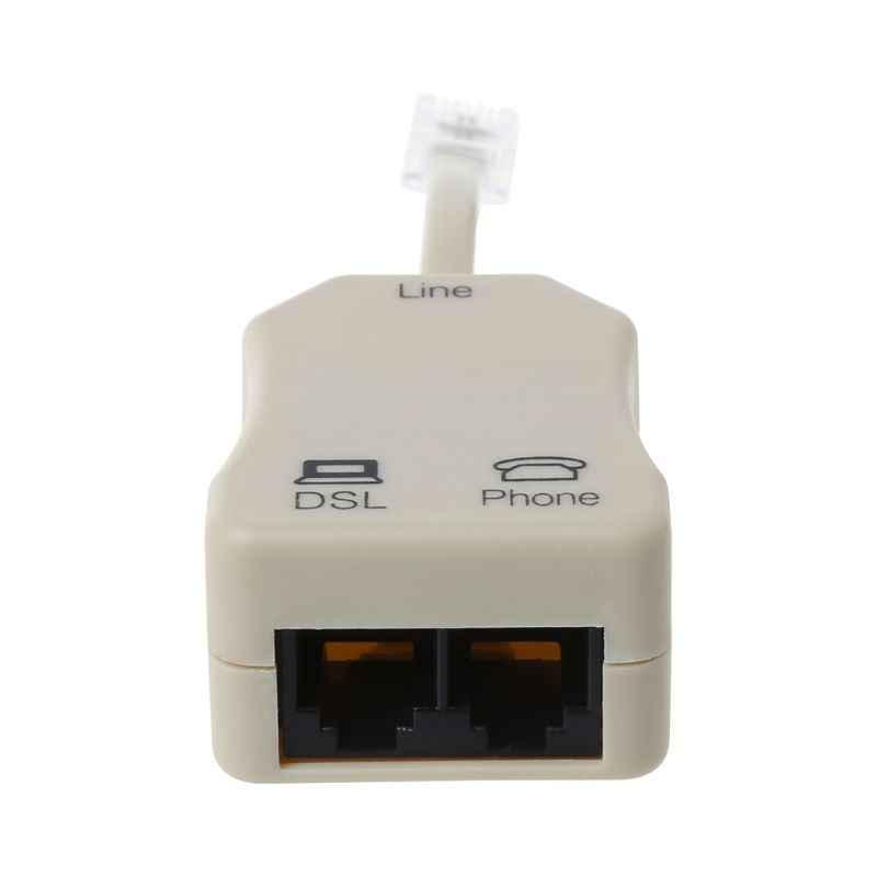 נייד ADSL מודם טלפון טלפון פקס ב-קו ספליטר מסנן רשת 1 PC