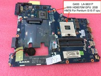 Free Shipping New VIWGP GR LA 9631P Main Card For Lenovo G400 Motherboard HM76 For Pentium