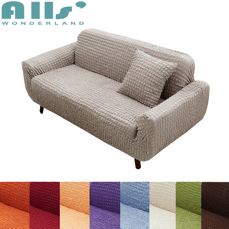 European Style Sofa Slipcover Polyester Modern Furniture-Covers Fashion Decoration For Living Room Couch Covers Elastic Spandex