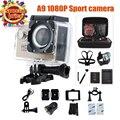 Câmera ação 1080 P 15fps 720 P HD Original GEEKAM A9 deportivas pro ir Mini câmera de Vídeo à prova d' água esporte cam filmadoras