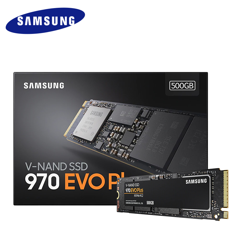SAMSUNG SSD M 2 1TB 250GB 500GB 970 EVO Plus NVMe Internal Solid State Drive Hard