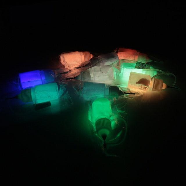 Tienda Online 12 colores cuerpo pintura fluorescente del polvo de ...