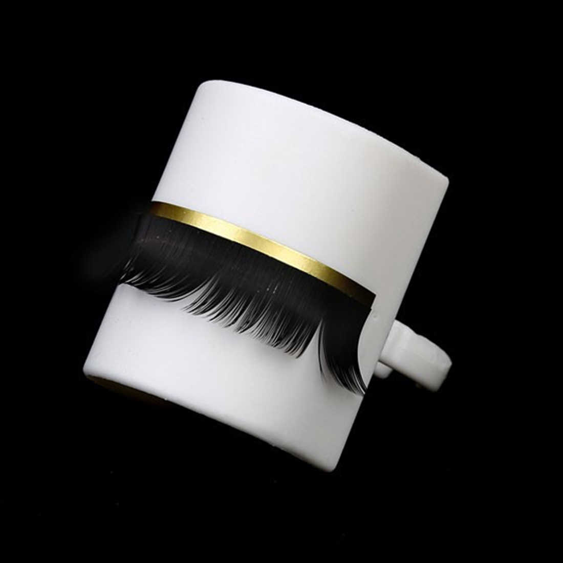 Wimpern Verlängerung Kleber Ring Palette Halter Ring Halter Klebstoff Individuelle Wimpern Stehen Separate Lash U Geformt Make-Up-Tool