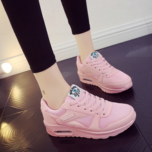 Women Shoes 츠 Leather Platform Shoes 숨 Mesh Sneakers 편안한 Women Casual Flat Fashion 숙 녀 신발쏙 ~ 2019 New(China)